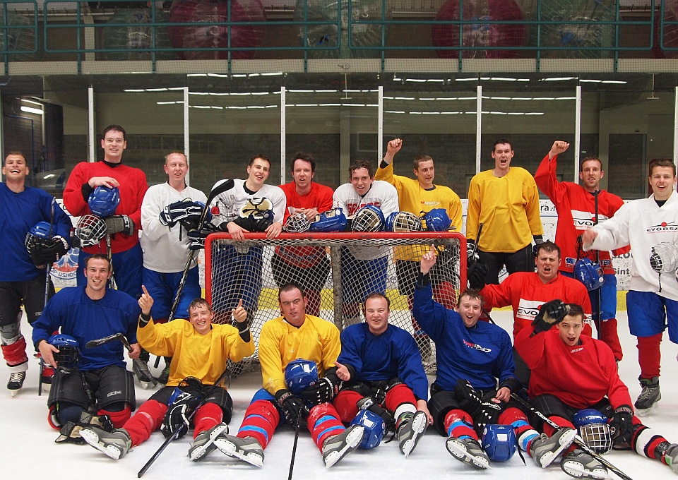 Ijshockey clinic De Uithof