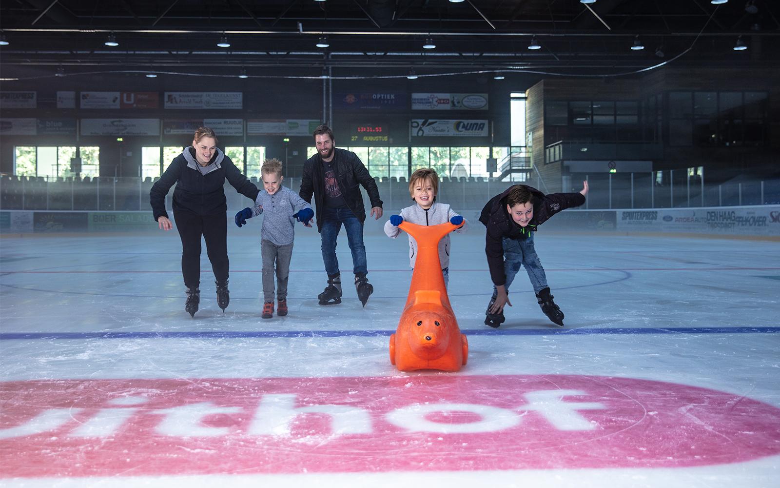 Openingstijden schaatsbaan