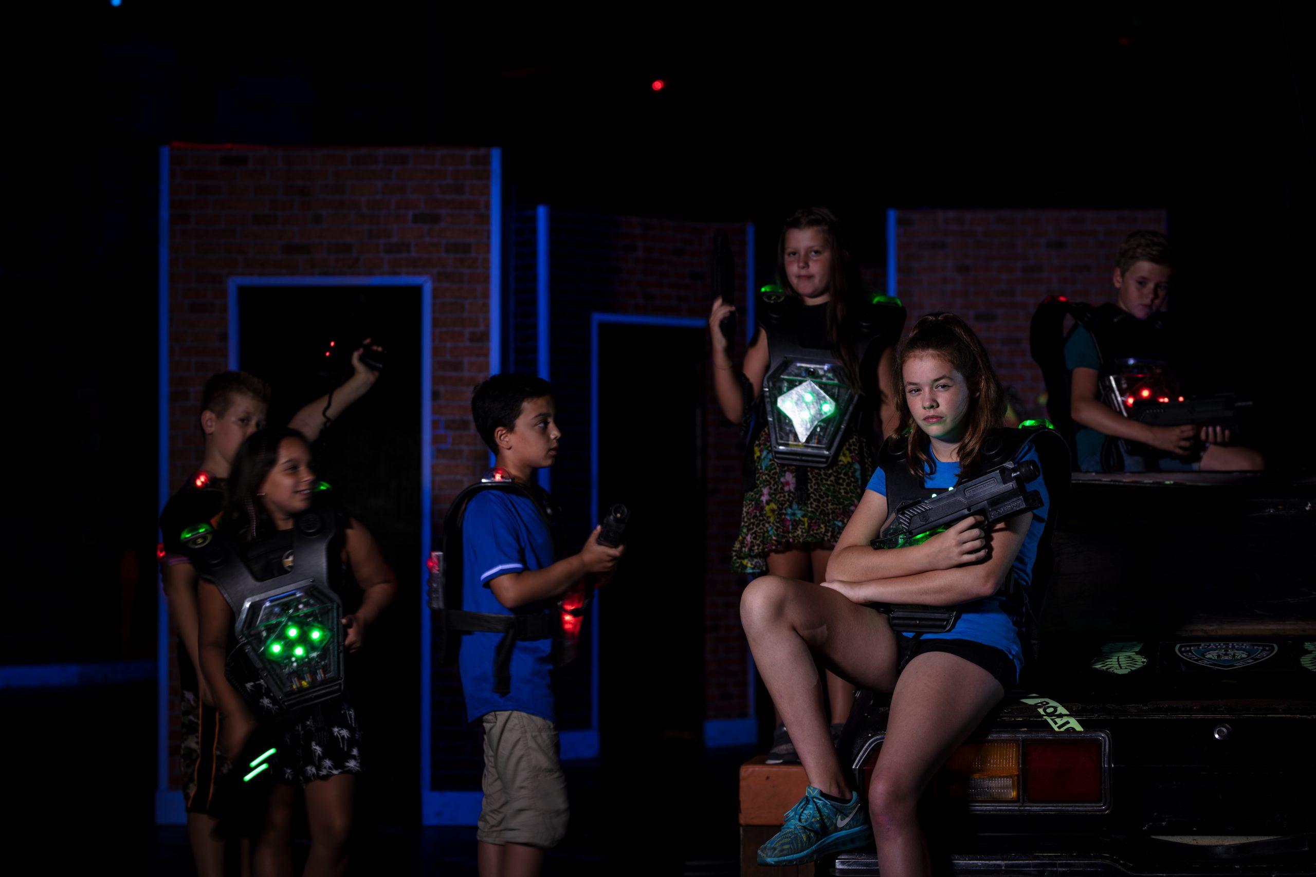 Lasergame feestje