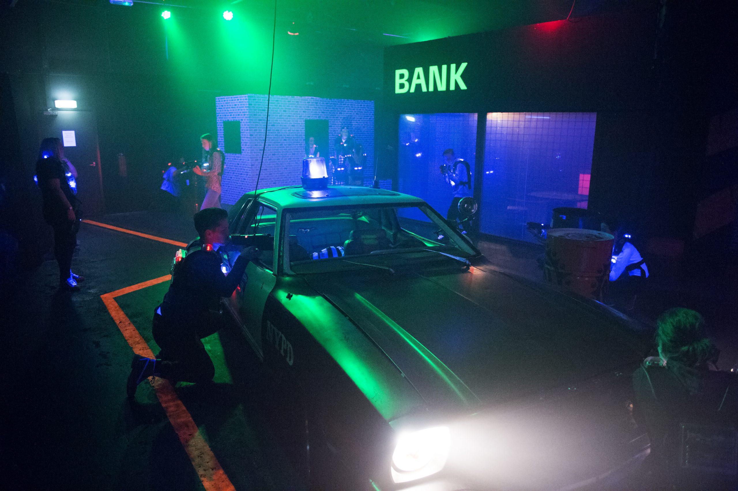 Kart & Lasergame feestje