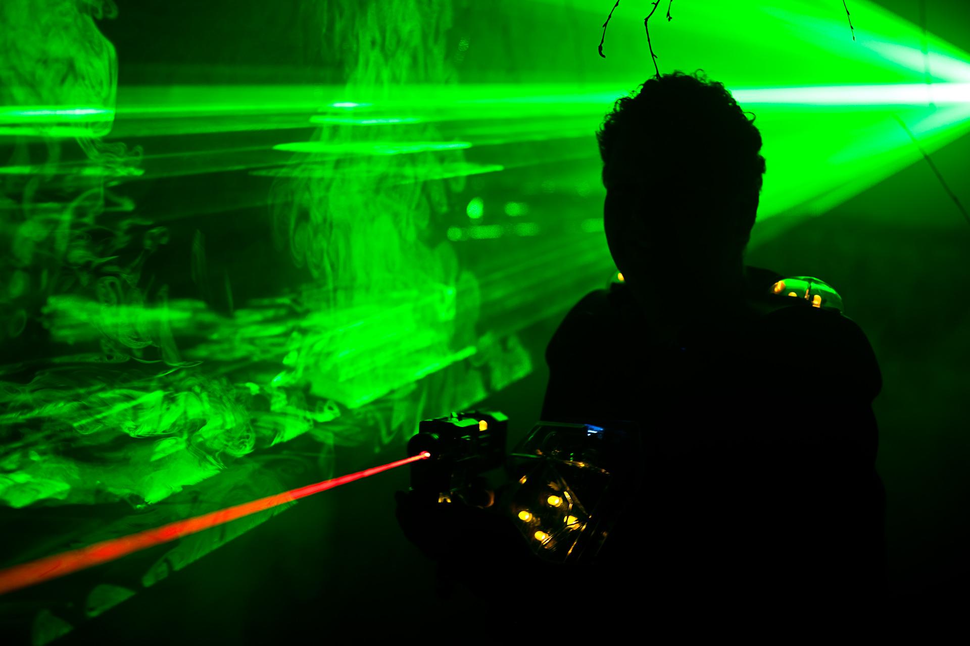 Sumo & Lasergame feestje