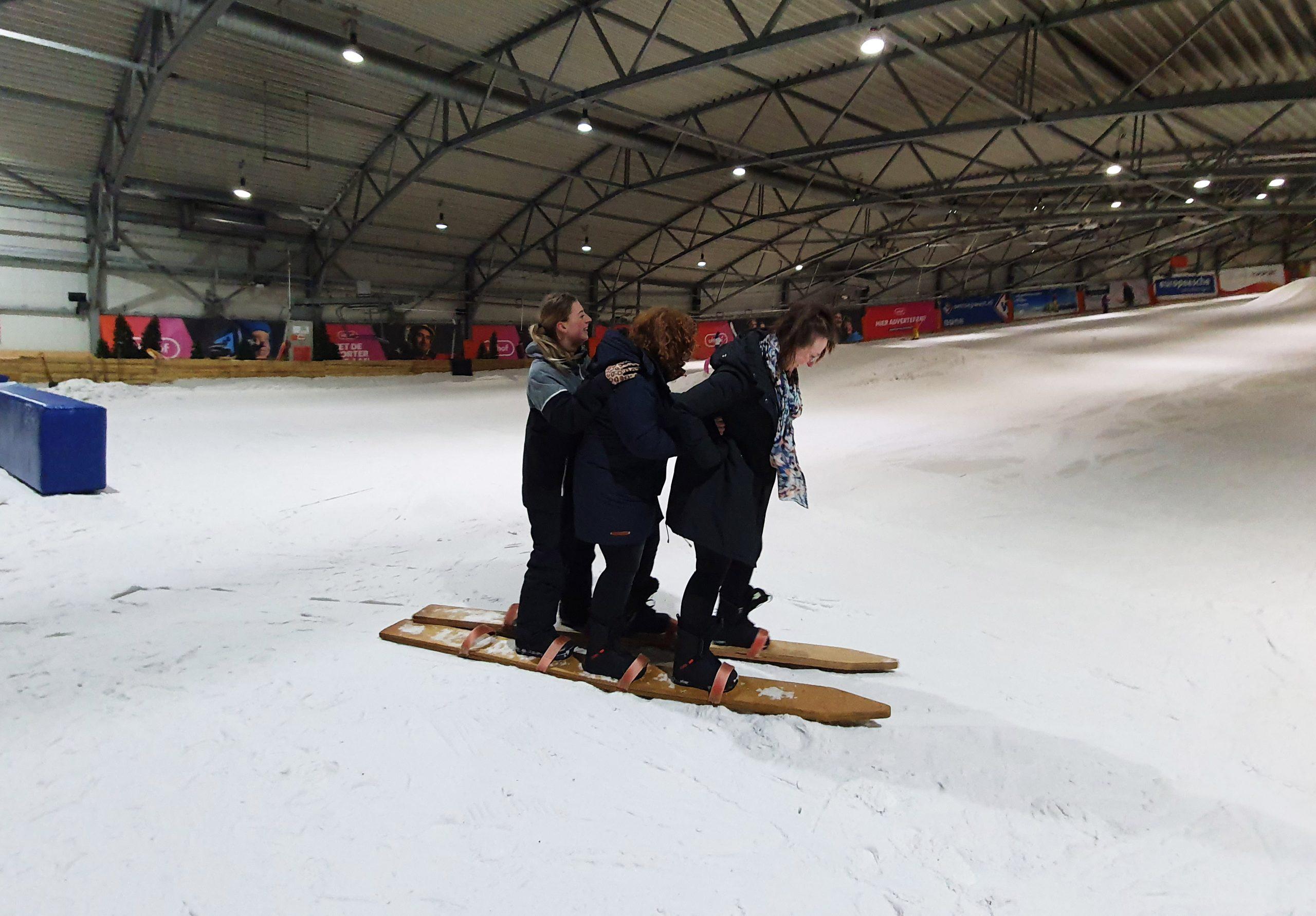 Snow Games feestje